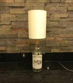 Excited to share the latest addition to my #etsy shop: Southern Comfort Bottle Lamp, Upcycled Bottle Lamp, Bottle Lamp #LampUpcycle
