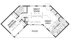 Small house plans on Pinterest   Floor Plans  House plans and Tiny    Plan No  House Plans by WestHomePlanners com