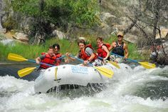 Whitewater Rafting - A Great Family Vacation Idea ~Article And Video