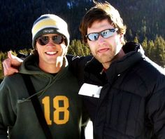 Never forget that Jared Padalecki's brother Jeff is even TALLER THAN HIM.