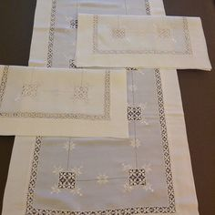 Photo from mimtasarim Hardanger Embroidery, White Embroidery, Embroidery Patterns Free, Embroidery Designs, Drawn Thread, Bargello, Blackwork, Needlework, Quilts