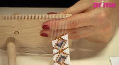 La technique du tissage de perles en vidéo