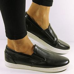Wills women's slip-on sneakers in black