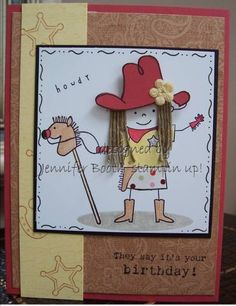 J-Bo ruby cowgirl