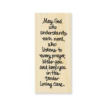 Stampendous® Rubber Stamp, TLC Blessing