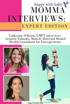 """Momma Interviews """"Expert Edition"""": Featuring Arianna Taboada — Catherine O'Brien 