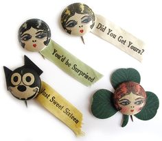 The Great Gatsby-inspired Roaring 20's Collection - 1920's Garter Buttons