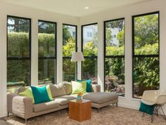 Find out the cost of Pella windows and installation in this window replacement guide. Pella windows offer a wide range of pricing to suit your budget. Sunroom Windows, Living Room Windows, House Windows, Windows And Doors, Pella Doors, Pella Windows, Window Replacement Cost, Window Cost, Residential Windows