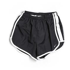Pre-owned Nike Athletic Shorts Size 4: Black Women's Activewear ($15) ❤ liked on Polyvore featuring activewear, activewear shorts, black, nike, nike activewear and nike sportswear