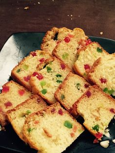 I was completely craving to have this one since long time! Searching for the tutti frutti (DRY Cherries) in USA is a big thing. Eggless Recipes, Eggless Baking, Tea Rusk Recipe, Easy Cooking, Cooking Recipes, Microwave Recipes, Veggie Recipes, Fruity Cupcakes, Jain Recipes