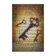 Three Old Skeleton Keys Art Print by Garry Gay. All prints are professionally printed, packaged, and shipped within 3 - 4 business days. Old Key Crafts, Keys Art, All Print, Jewelry Crafts, Fine Art America, Gay, Skeleton Keys, Thing 1, Projects