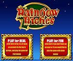 The Rainbow Riches slot machine game is available online at http://www.slotreviewonline.com