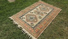 Hand knotted Decorative Turkish Area Rug