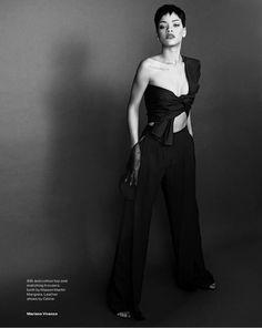 9 Shots of a Bad Girl Gone Haute @Arrojo NYC Cosmetology #stylenoted #rihanna #hair #hairstyle @ELLE Magazine (US) Magazine (US) #editorial #elle #simplyfabulous #