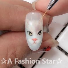 Nail Art®A Fashion Star® Nail Art - Ein Fashion Star # Thumbnail # ThumbnailArt # # ネ イ ル na na na na nail nail nail agram agram ジ nail nail ア ア イ ア ア stan з з ア ア ア # Nail Art Designs Videos, Nail Design Video, Nail Art Videos, Crazy Nail Art, Pretty Nail Art, Animal Nail Art, Nail Art Techniques, Star Nails, Beautiful Nail Designs