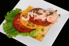 Heirloom Tomato & Bay Shrimp Salad