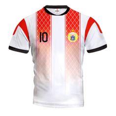 INDONEZJA 2015/16 Wyjazdowa Koszulka Piłkarska z Własnym Nadrukiem