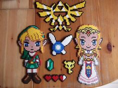 Legend of Zelda hama perler by beadstoterabithia