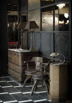 Gorgeous restaurant interior - Dishoom, Shoreditch