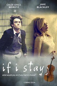 """If I Stay Mia (Chloe Grace Moretz from """"Carrie,"""" 2013) has decided not to date boys in high school and wait for college instead. The only thing she wants to wrap her arms around is her cello, until Adam (Jamie Blackley from """"The Fifth Estate"""") asks her out. #pwliving #moviereviews"""