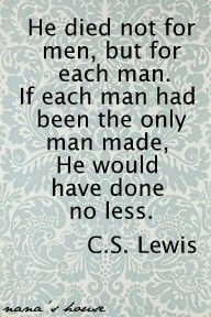 GREAT C.S. Lewis quote shared by The Modest Mom