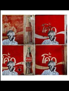 Coca Cola India, by Andy Warhol