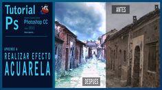 Tutorial Photoshop efecto acuarela/watercolor by @ildefonsosegura