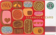 Box of Chocolates Starbucks Card - 2004 Valentines