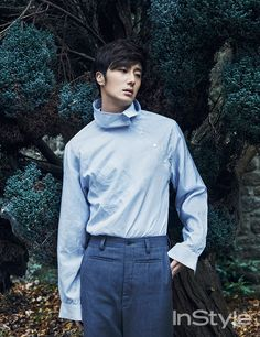 Jung Il Woo - InStyle Magazine March Issue '15
