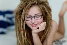 Sey nude girl with dreads #6