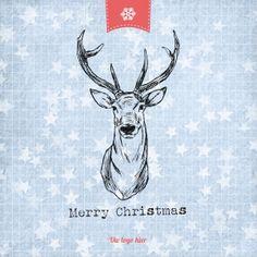 Kerstkaarten en nieuwjaarskaarten van Santhos! Moose Art, Merry Christmas, Holiday, Cards, Animals, Design, Merry Little Christmas, Vacations, Animales