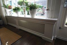 Landelijke radiator ombouw