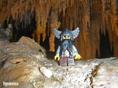 Dwarf in his cave | Geekoteca Labs | Lego
