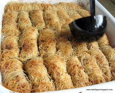 Follow The sister dessert to Baklava has to be Kataifi. The more common and popular dessert is baklava but don't let that keep you from trying out this dessert that's easy to assemble, fabulous to look at and ever a delight to eat. Much like Baklava, Kataifi exists in the dessert repertoire of Greek, Turkish, …
