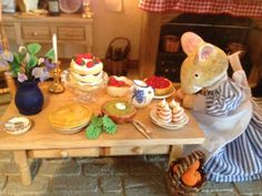 Brambly Hedge inspired Mouse Kitchen