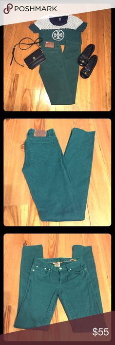Tory Burch Skinny Jeans Size 25 Tory Burch Ivy Super Skinny Jeans size 25 in great condition.  33in. inseam. Tory Burch Jeans Skinny