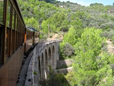 Train from Soller to Palma, since 1912. www.sollersecrets.com