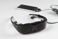 Intense! Large Display Video Glasses $399