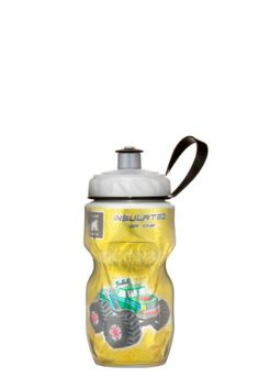 Polar Bottle Insulated Water Bottle 12Ounce Monster Truck ** See this great product. (Note:Amazon affiliate link)