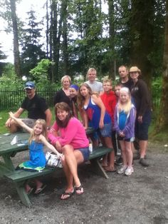 The Port Moody get together Campers