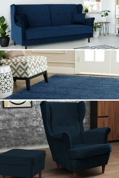 Farbou roka 2020 sa podľa spoločnosti Pantone stala klasická modrá. Táto farba má priniesť pocity pokoja a mieru. 💙💙 Zariaďte či skrášlite si domov 🏠 novým nábytkom alebo bytovým doplnkom v nadčasovej modrej aj vy. 😊 #farbaroka #modra #domov #modrydomov Pantone, Armchair, Furniture, Home Decor, Catalog, Sofa Chair, Single Sofa, Decoration Home, Room Decor