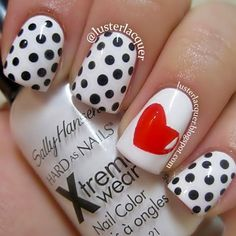 14 Super Pretty Valentine's Day Nail Designs - Hashtag Nail Art