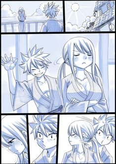 Natsu & Lucy Nalu by Hiro Mashima Natsu Fairy Tail, Fairy Tail Lucy, Fairy Tail Ships, Fairy Tail Tumblr, Art Fairy Tail, Image Fairy Tail, Fairy Tail Quotes, Fairy Tail Comics, Fairy Tail Guild