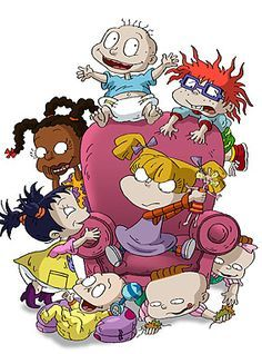 Chuckie, Dil, Phil, Tommy, Angelica, Kimmie, Lil and Susie