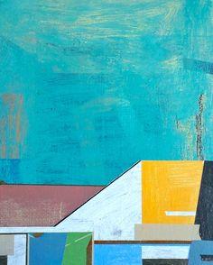 """""""Nerima Skyline 4"""" by Jim Harris; Acrylic, 2013, Painting"""