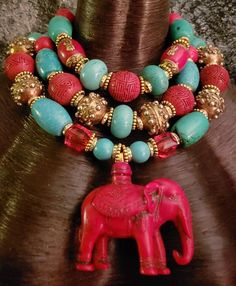 Check out this item in my Etsy shop https://www.etsy.com/listing/606546543/heavy-tribal-statement-necklace-luxury