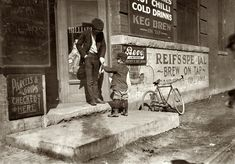 March 15, 1917. Oklahoma City. Jack Ryan is 6-year-old newsie who lives at 126½ West Reno Street. Photograph by Lewis Wickes Hine.