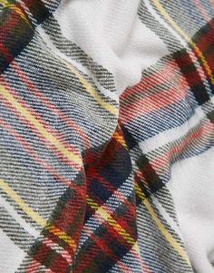 06f96913de1 Image 2 - Pieces - Écharpe style couverture oversize à carreaux écossais  Carreau