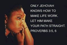 Put your full trust in Jehovah. Pray to him.