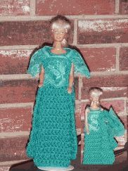 Robe & Nightgown crochet pattern